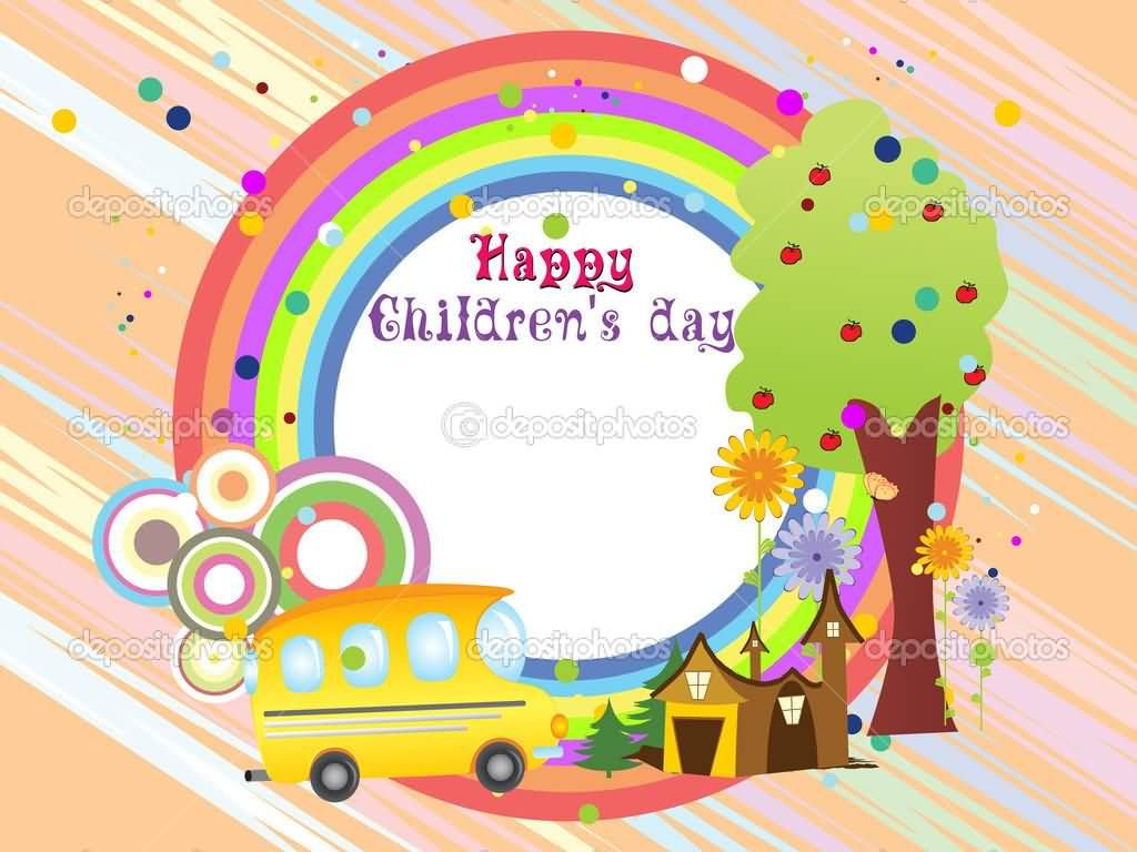 Happy Childrens Day Greeting Card Image Childrens Day