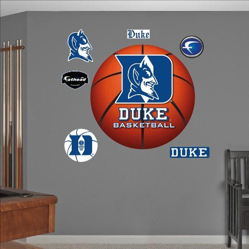 ncaa duke blue devils basketball logo wall graphic what is a