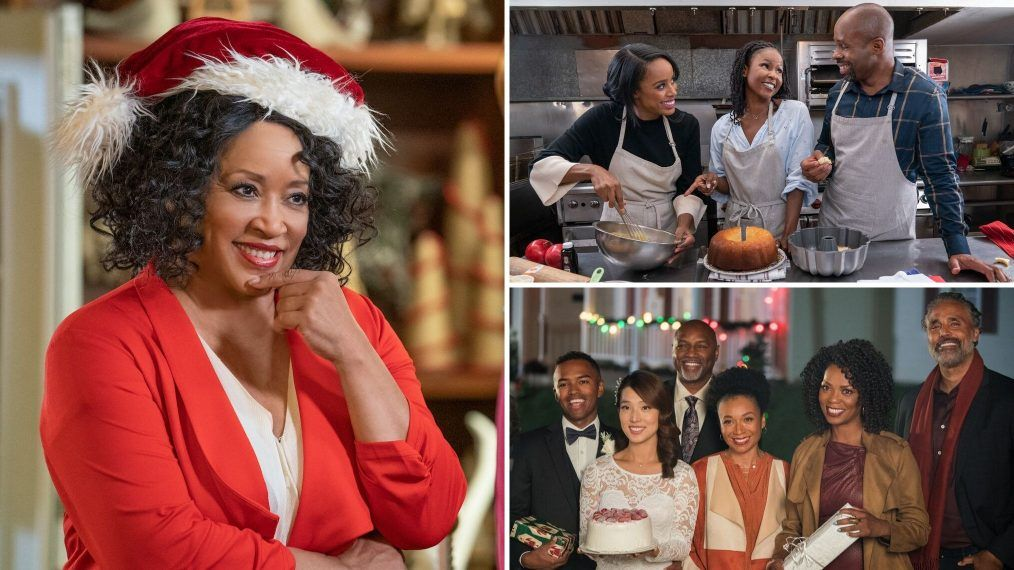 First Look Jackee Harry Marla Gibbs More In Own Holiday Movies