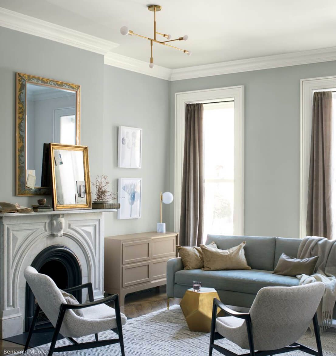 Benjamin Moore Colors For Your Living Room Decor: Benjamin Moore Metropolitan: 2019 Color Of The Year