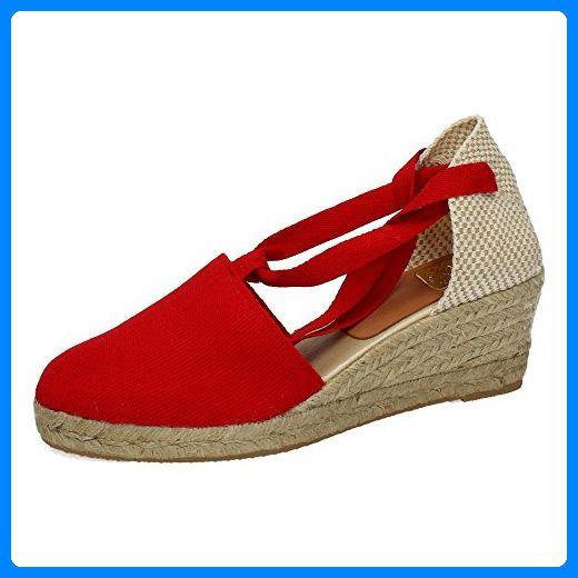 Torres Damen Espadrilles, Rot - Rot - Größe: 37