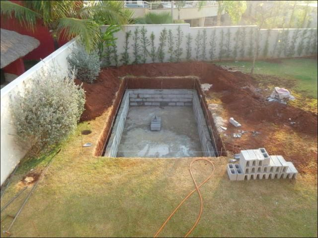 Cheap Way To Build Your Own Swimming Pool | projects | Pinterest ...