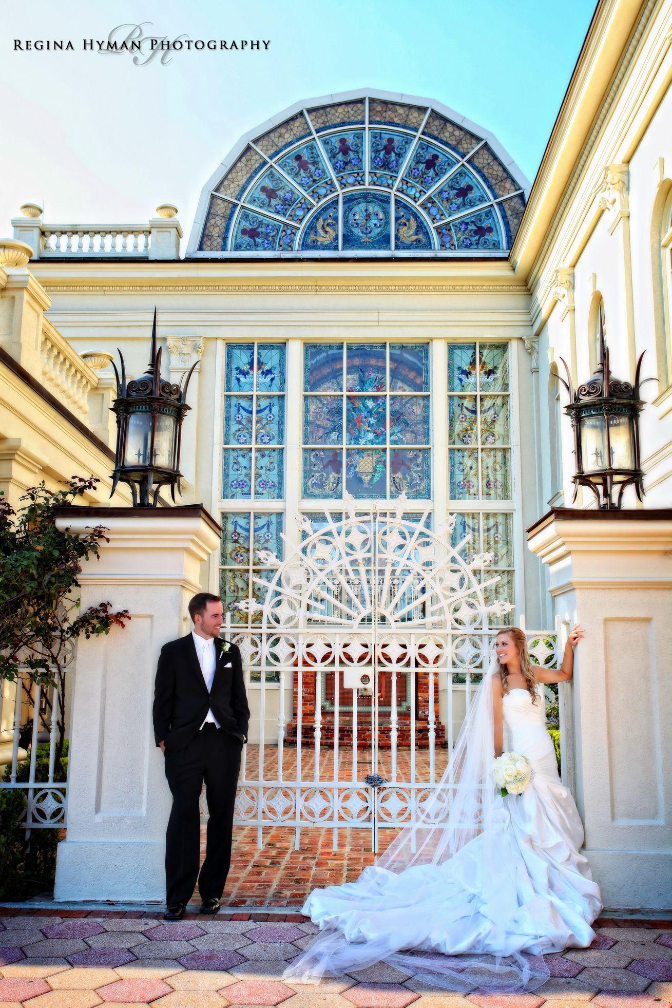 Beautiful Ballroom At Church Street Wedding Orlando Photographer Regina Hyman Photography