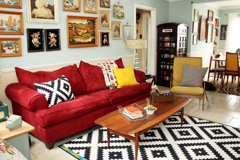 Love This Home Tour Filled With Fun Collections Like Cuckoo Clocks Paint By