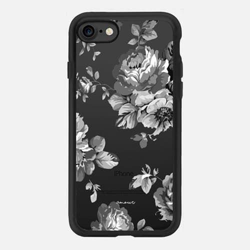 black pattern iphone 7 case