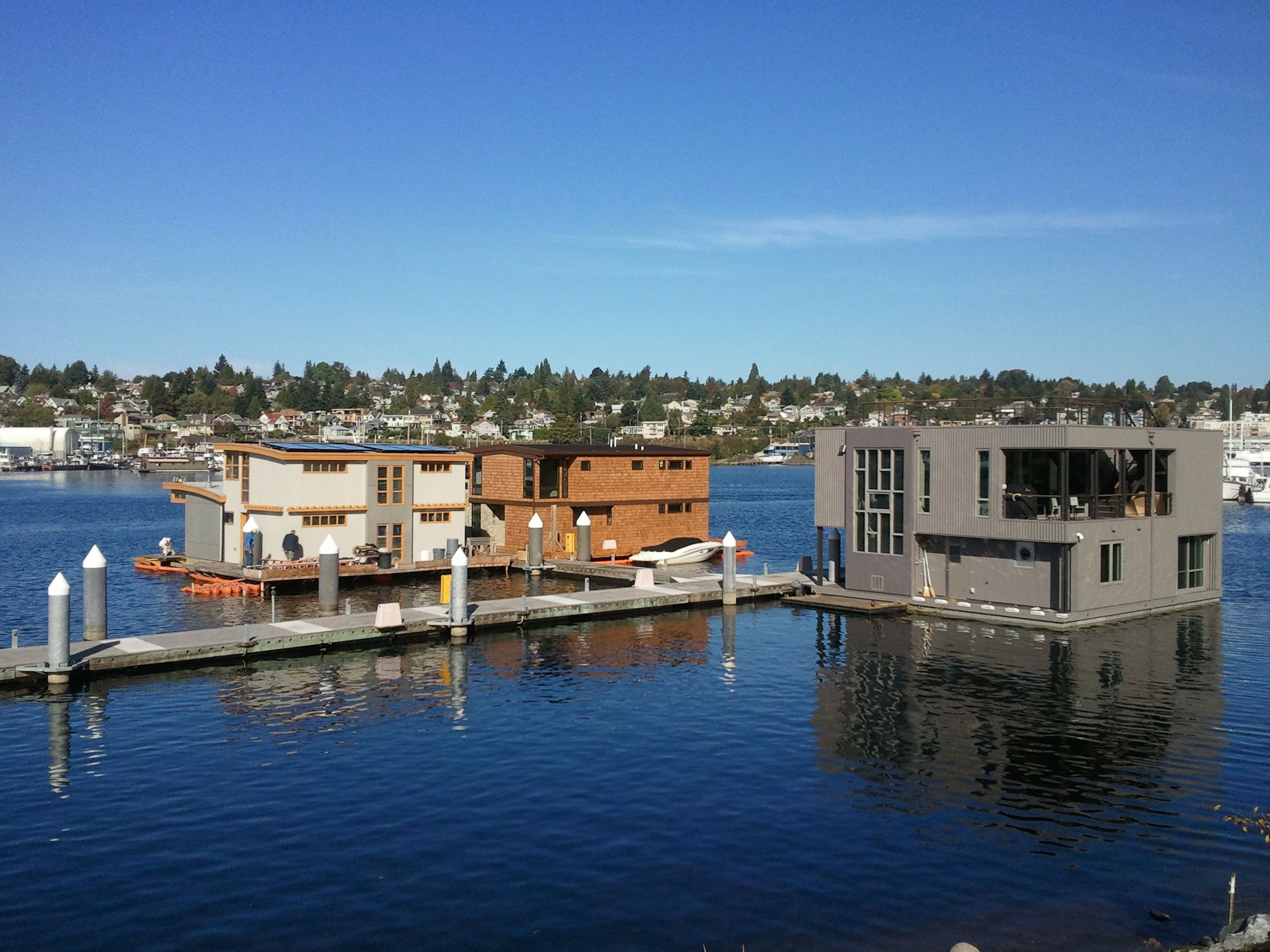 New Construction Seattle Floating Homes Http Www Seattleafloat