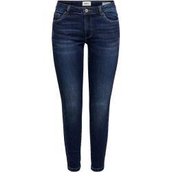 Photo of Solo jeans aderenti alla caviglia Onlcarmen Reg Solo donna Blu