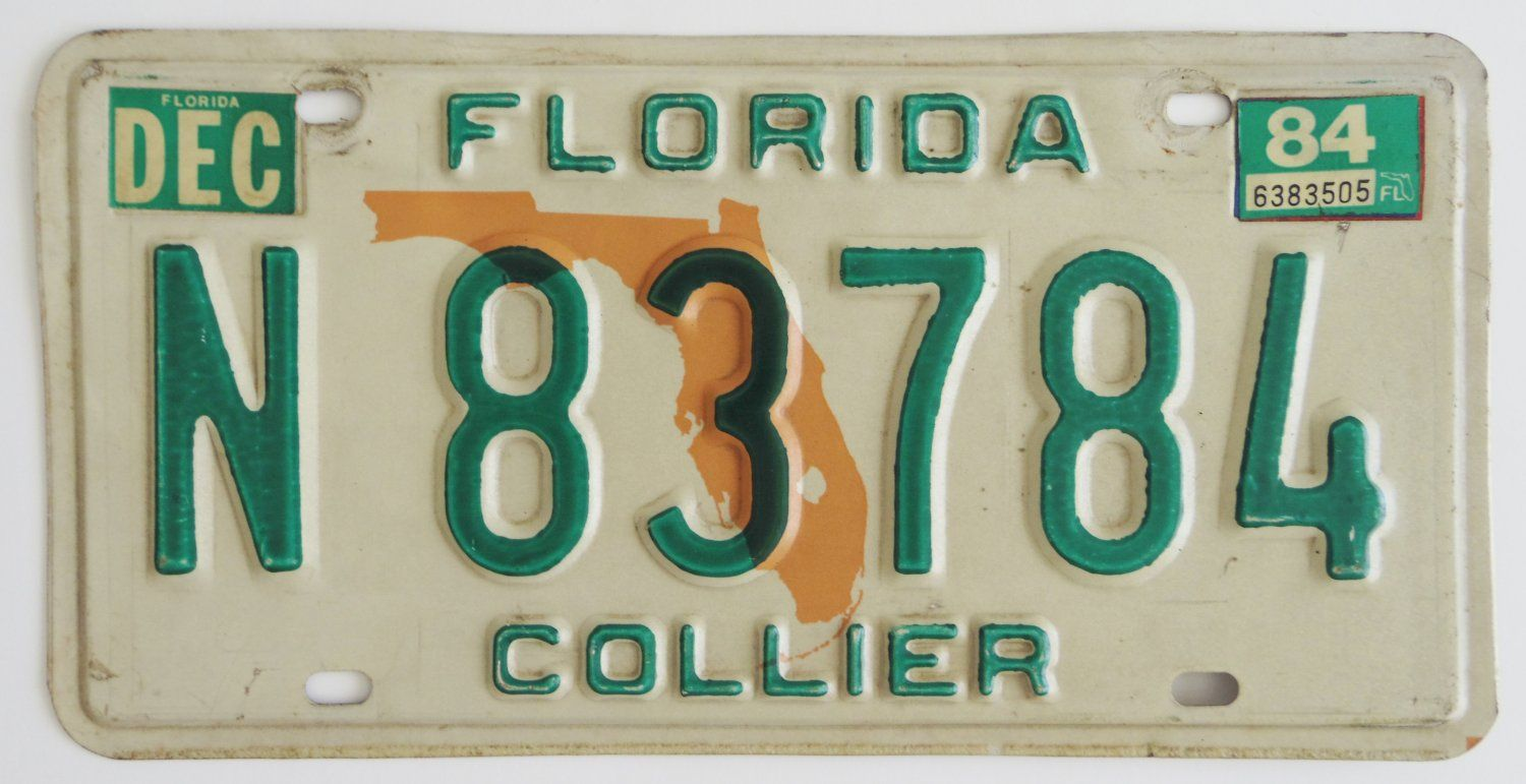 Florida+License+Plate+Collier+County  $8.99 free shipping