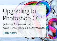 Upgrading to Photoshop CC- http://www.adobe.com/products/photoshopfamily.html