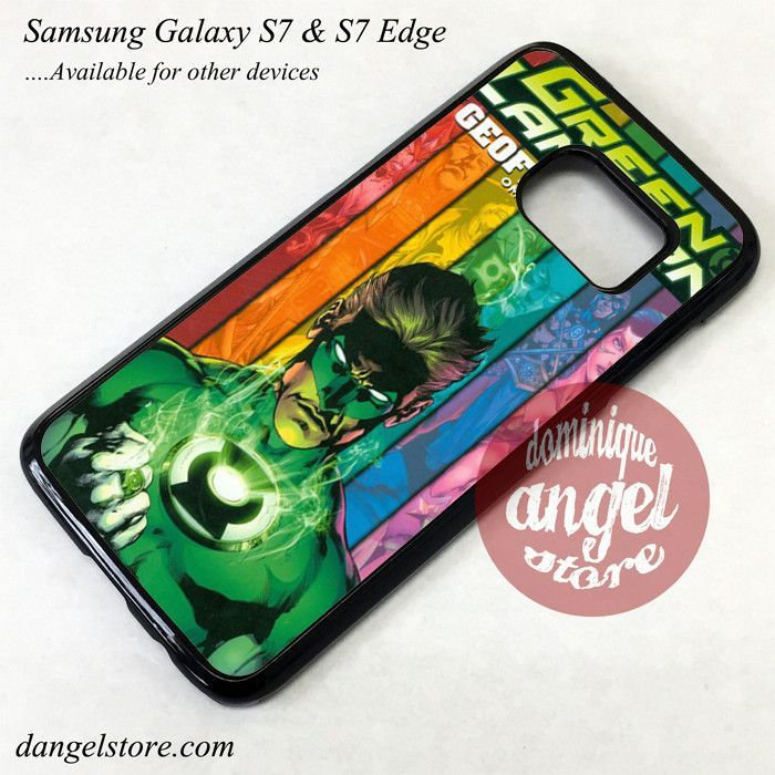 Green Lantern Comic Cover Phone Case for Samsung Galaxy S7 and Galaxy S7 Edge