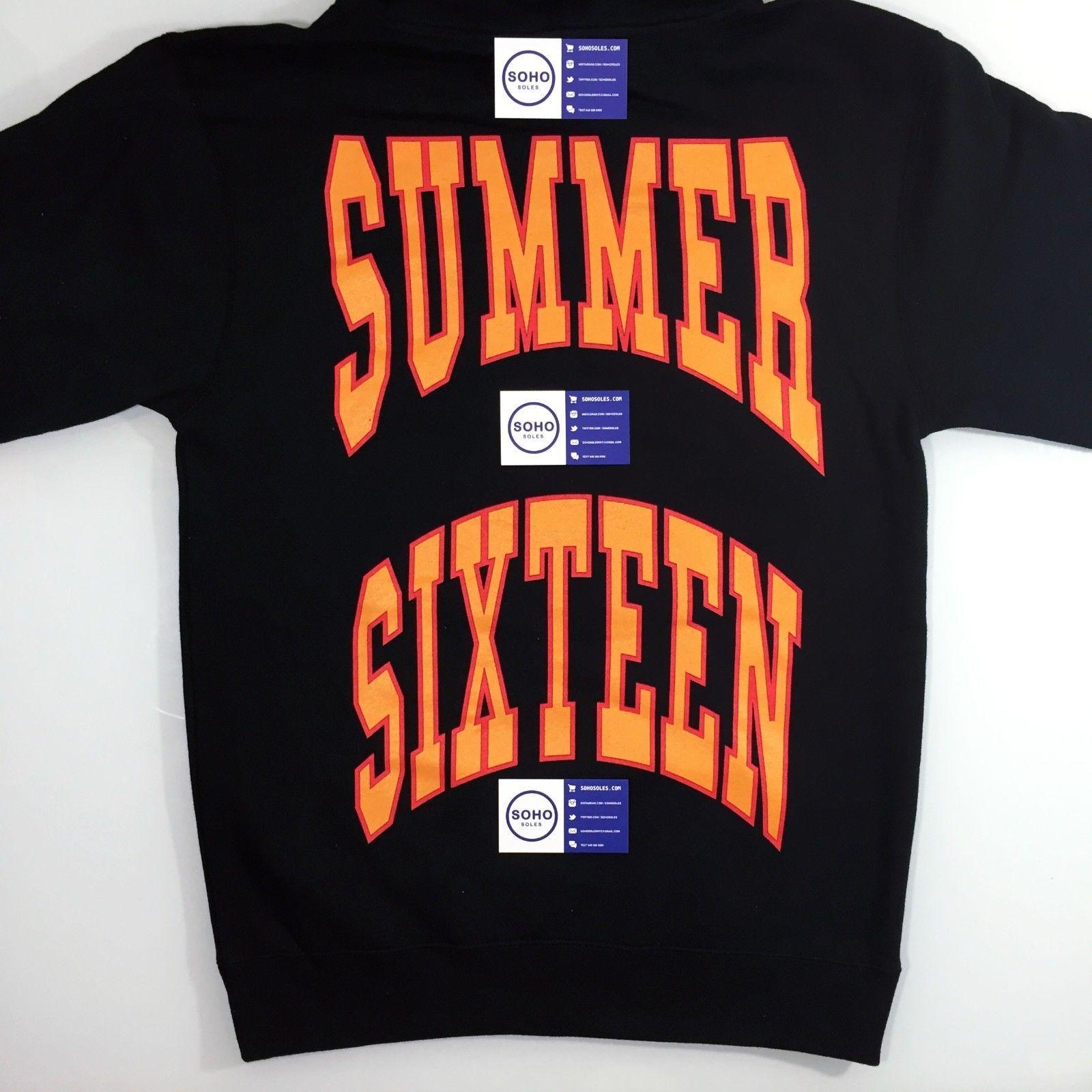 3d157adc52a3 Drake Summer Sixteen Tour Revenge Hoodie Sz S-xl - 100% Authentic 6 16  Views Ovo