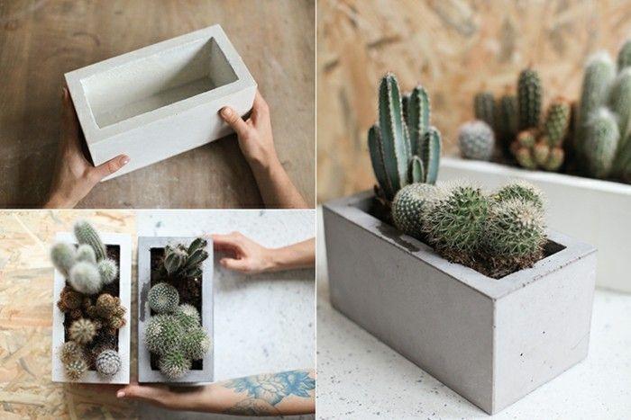 Gartendeko aus Beton: Anleitung und 33 kreative Ideen