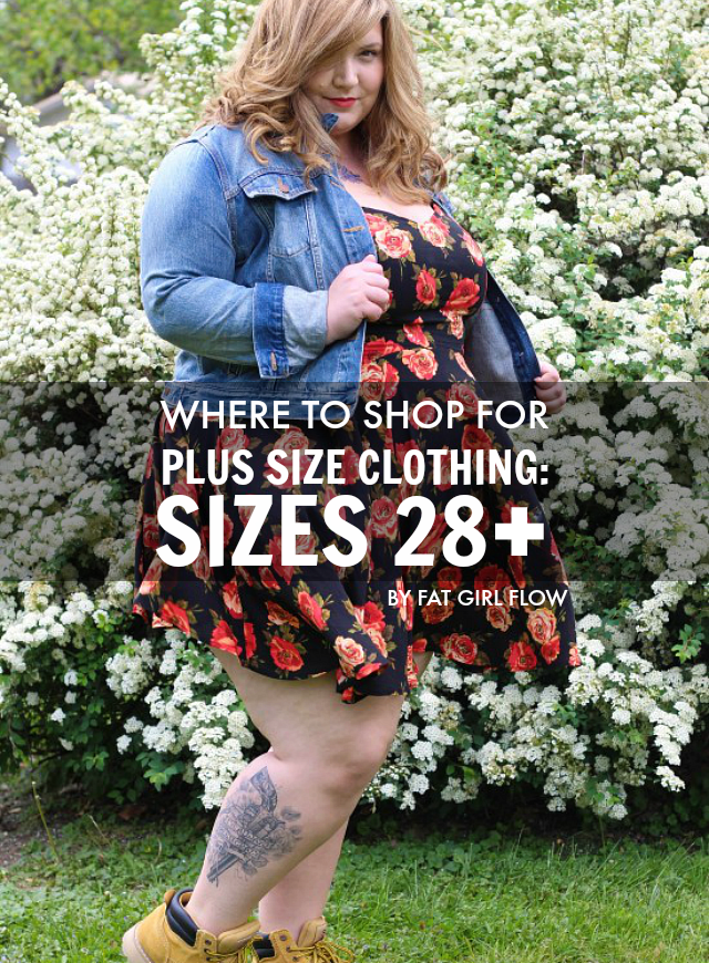 342b67e32b086 The Militant Baker  WHERE TO SHOP FOR PLUS SIZE CLOTHING  SIZES 28+    BY  FAT GIRL FLOW