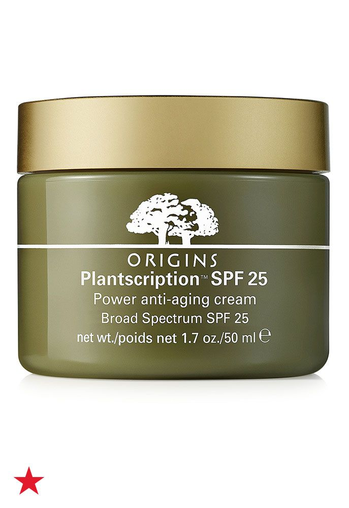 Fight Wrinkles With The Power Of Plants Origins Plantscription Anti Aging Cream Improves The Appea Oil Free Cream Origins Plantscription Anti Aging Face Cream
