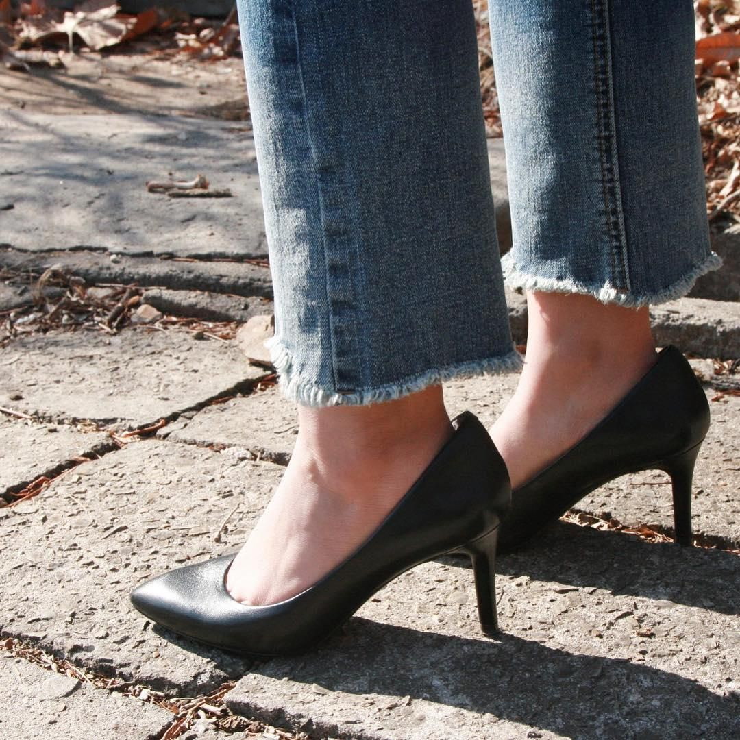 Total Motion 75mm Pointed Toe Heel