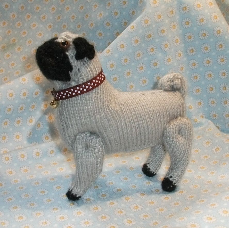 Free Pattern Knitted Pug Dog | Tuesday, 11 January 2011 | Projects ...