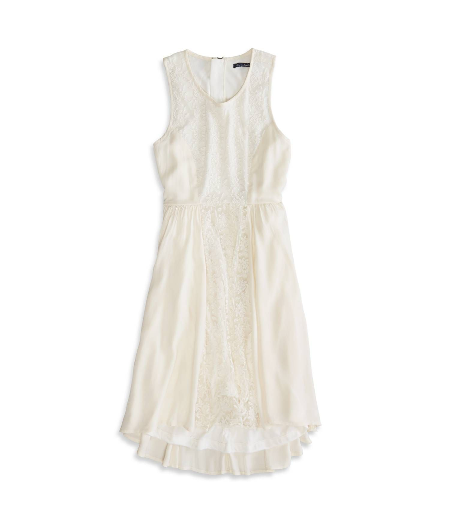 White lace babydoll dress - AE.  Adorable