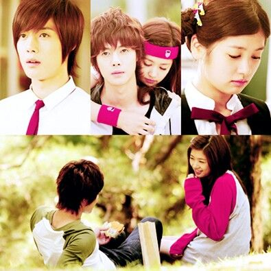 Playful kiss. Kim Hyun Joong como Baek Seung Jo y Jung So Min como Oh Ha Ni. Nota como pareja: 10/10.