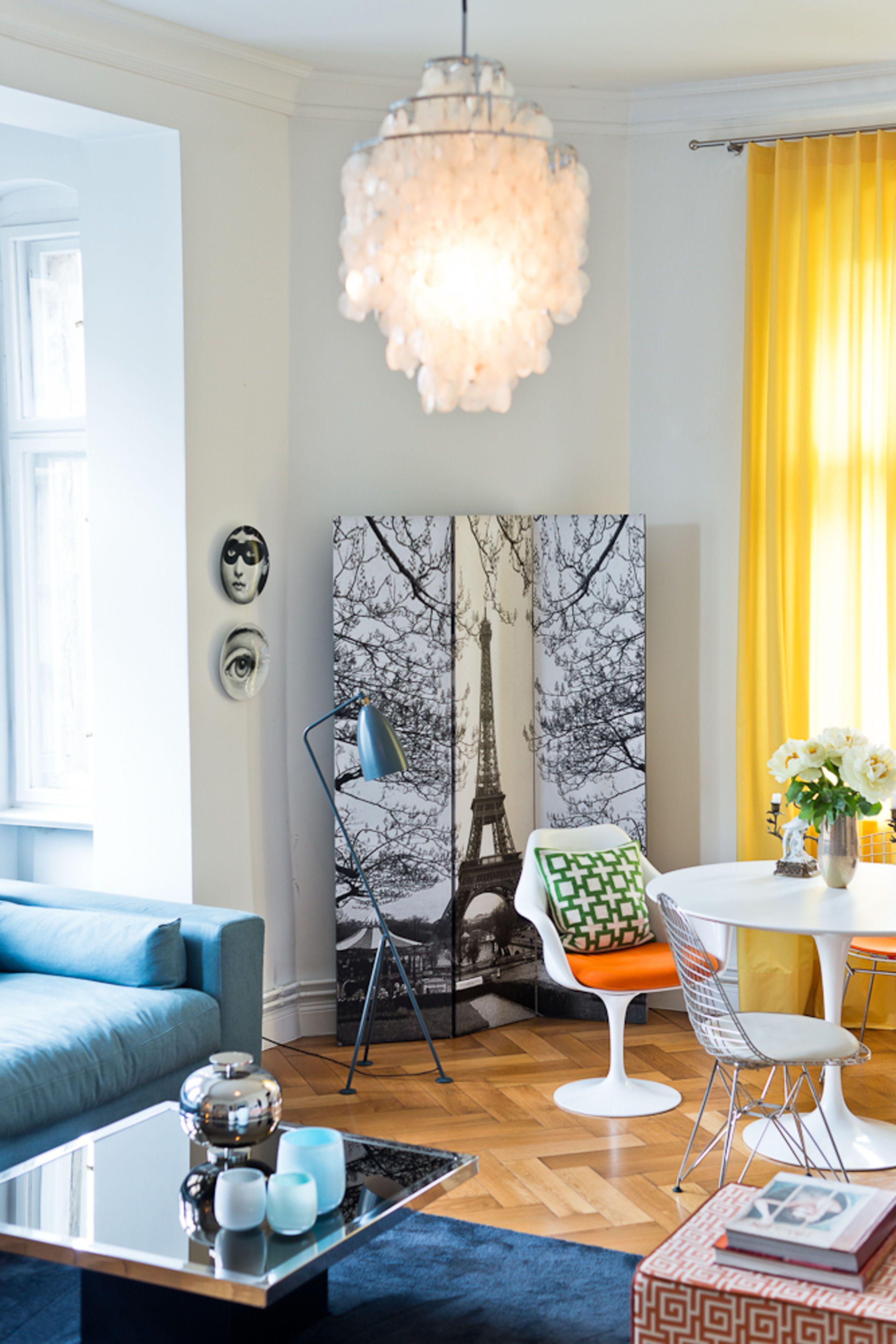 Wohnideen Wohnzimmer Stilmix Moderne Einrichtung Im Altbau First