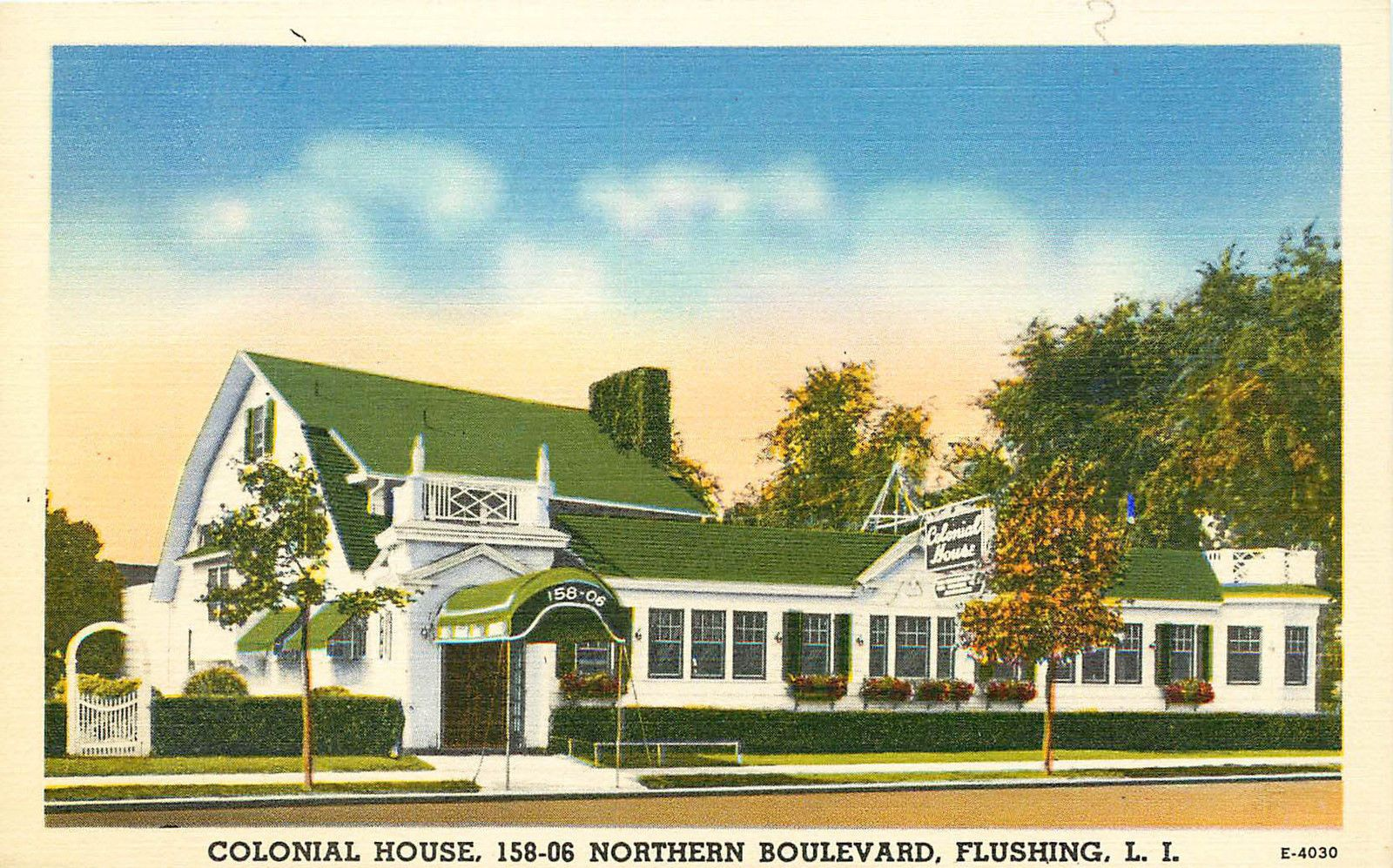 Colonial House Restaurant Flushing Queens New York City