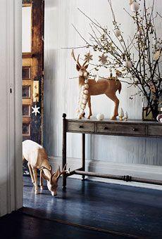 Brides Magazine: Winter Decor Inspiration | Domino Magazine | Home and Wedding Registry | Brides.com