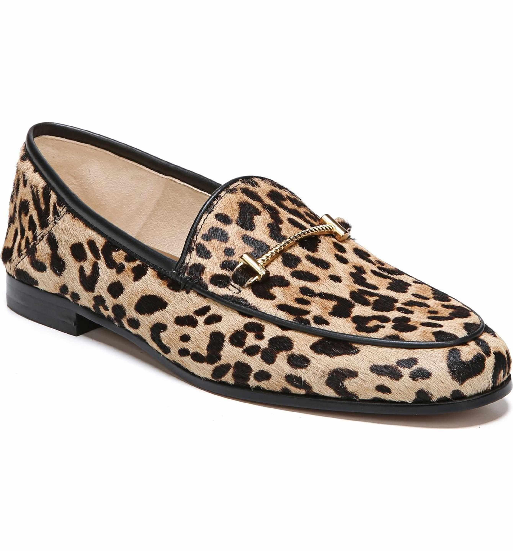 Sam Edelman Women's Lior Genuine Calf Hair Loafer heB7El