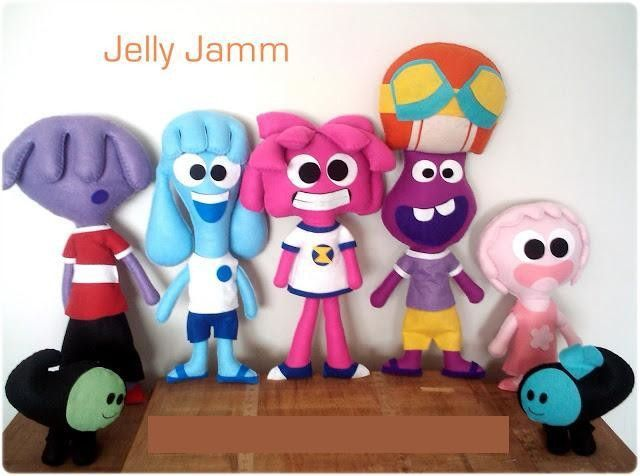Jelly Jamm musicale personnage peluche Bello