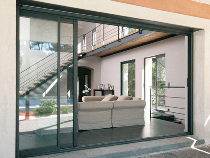 Envie de cette belle r alisation consultez nous www for Baies vitrees a galandage