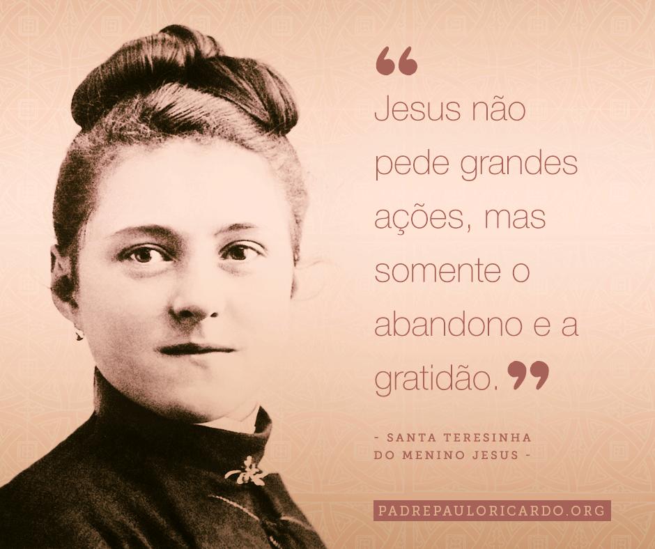 Santa Teresinha Do Menino Jesus E Da Sagrada Face Frases Santa