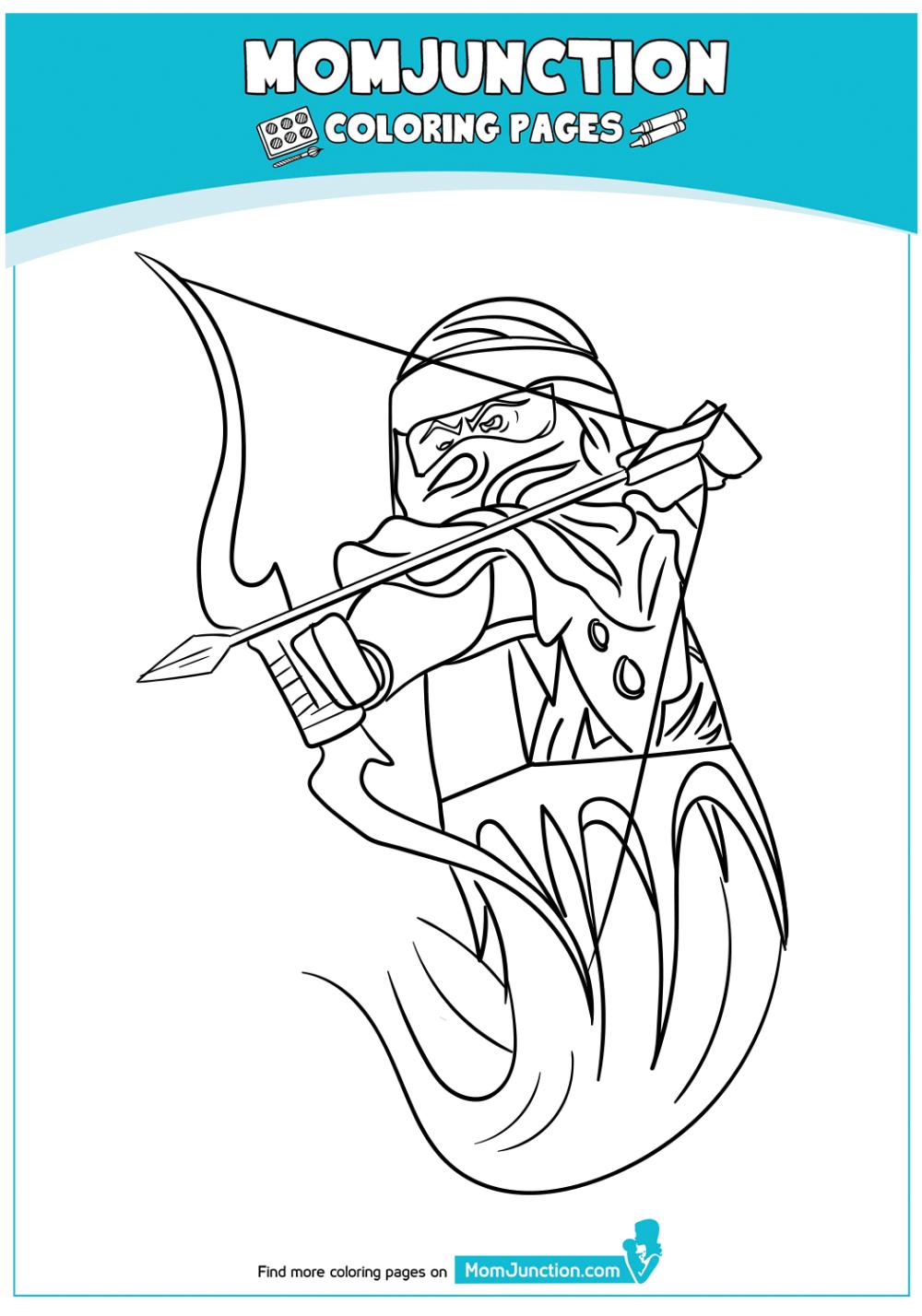 Ninjago Kai Into Action Coloring Page In 2021 Coloring Pages Ninjago Coloring Pages Color [ 1428 x 1000 Pixel ]