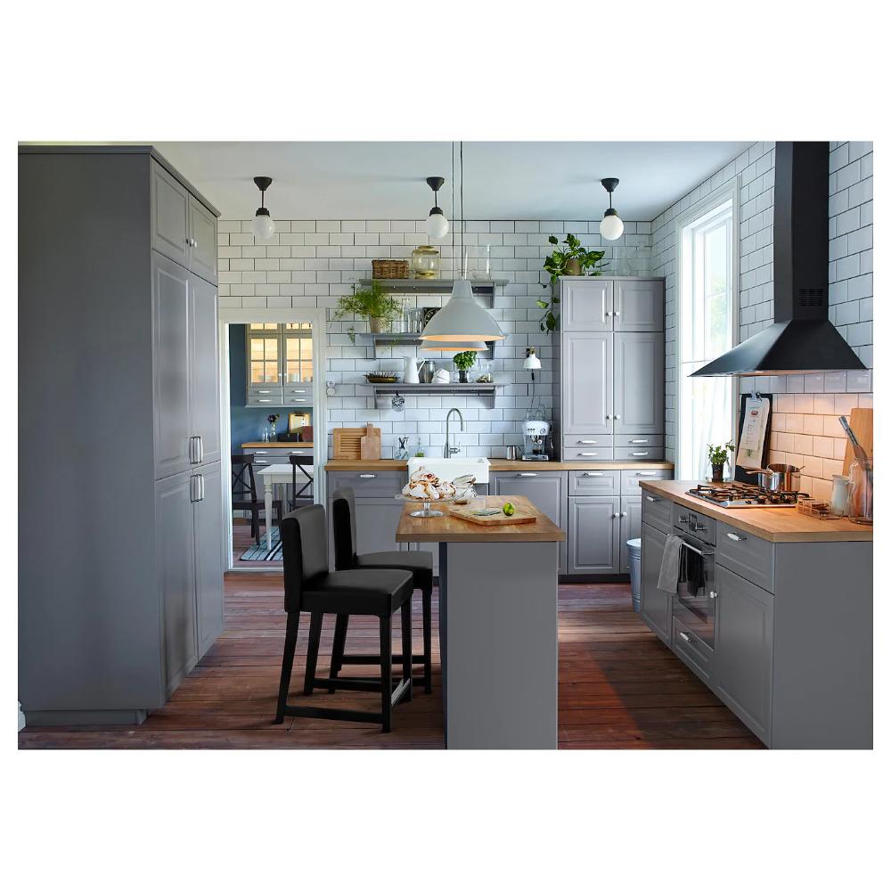 Karlby Countertop Oak Veneer 98x1 1 2 In 2020 Ikea New Kitchen Ikea Kitchen Design New Kitchen Cabinets