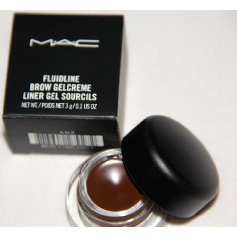 Mac fluidline brow gelcreme deep dark limited
