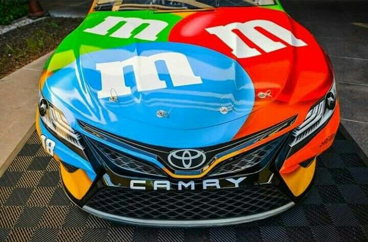 2018 Toyota Camry 2017 Monster Energy Cup Series Kyle Busch Kyle