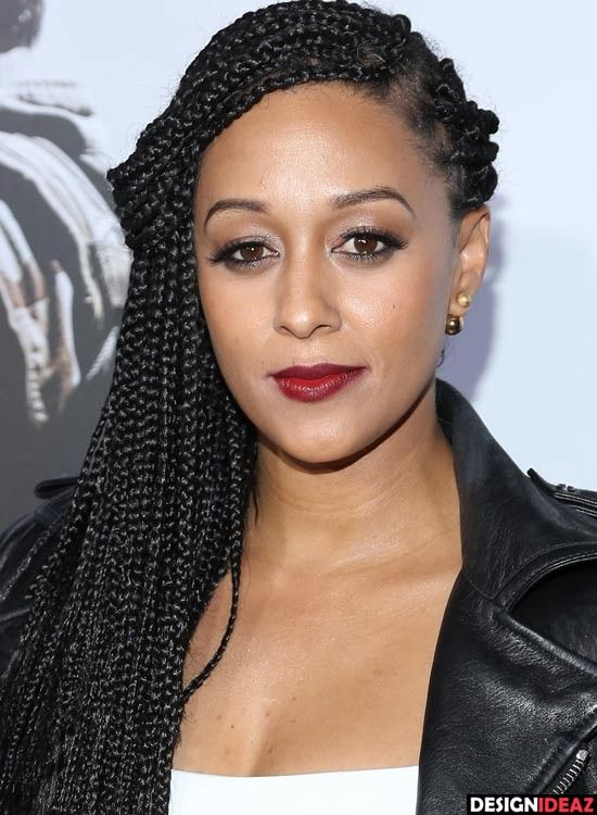 10 Eye Catching Braided Hairstyles For Round Faces Hairstyles For Round Faces Box Braids Hairstyles For Black Women Hair Styles