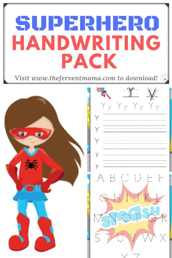 FREE Printable Superhero Alphabet Practice is part of Superhero alphabet, Alphabet practice, Improve your handwriting, Handwriting analysis, Learning printables, Handwriting - Facebook Twitter Pinterest Do you have a homeschool student at home learning their alphabet  If you do, then you know that the more practice you give the better  These free practicing ABC superhero printables will be a hit with your children  This free 30page printable pack contains each letter of the alphabet and has anRead More
