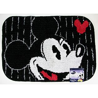 Disney Bath Rug Mickey Tuxedo 17 99 Disney Decor Bath Rug Mickey Mouse Bedroom