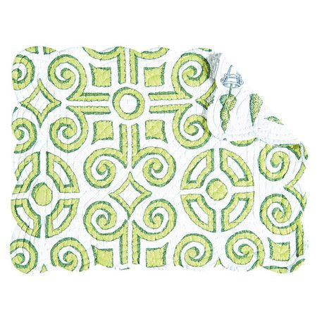 I pinned this Boxwood Rectangle Placemat from the Greet the Season event at Joss and Main!