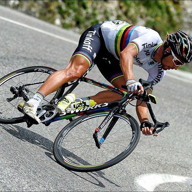 cbb596228 Peter Sagan descending skills stage 10 TDF2016 by veloimages #heavyglare  https://shop