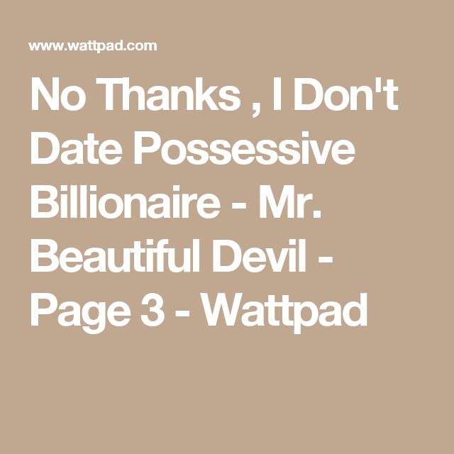 Dating Mr populaire Wattpad