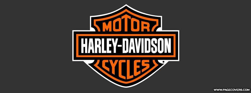 Harley Davidson Bike Logo Facebook Cover Pagecovers Com