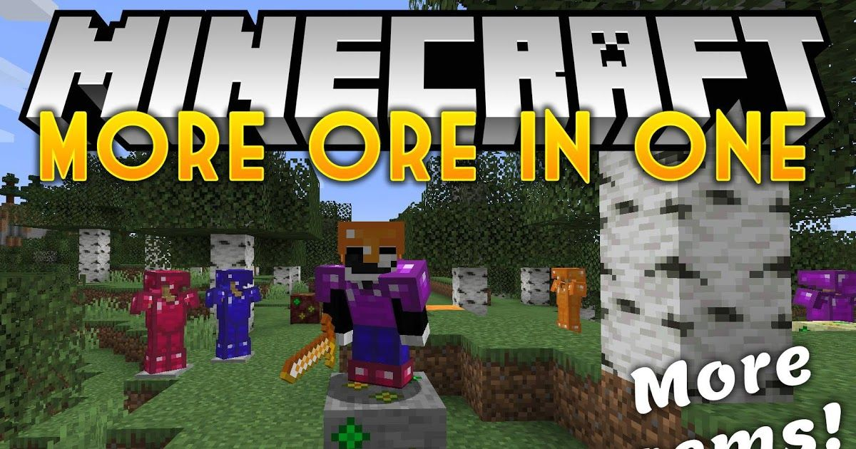 More Ores In One Mod 1 14 4 Adds New Tools Armors From New Ores