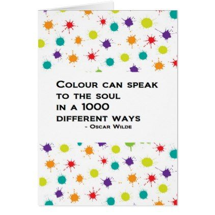 Colour can speak plain greeting card uk card plain gifts style colour can speak plain greeting card uk card plain gifts style diy cyo m4hsunfo