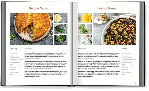 Create A Recipe Book Template Recipe Book Templates Template For