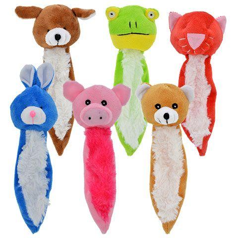 Greenbrier Kennel Club Colorful Plush Fox Dog Toys 14 In Plush