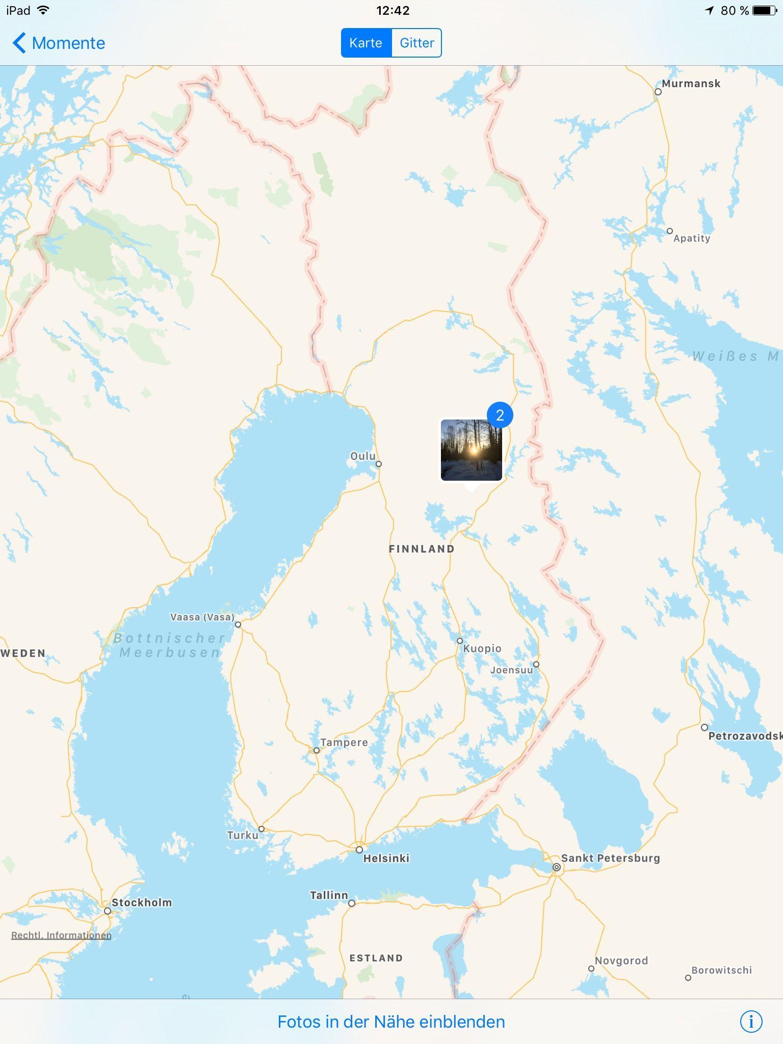 Huskytour in Finnland