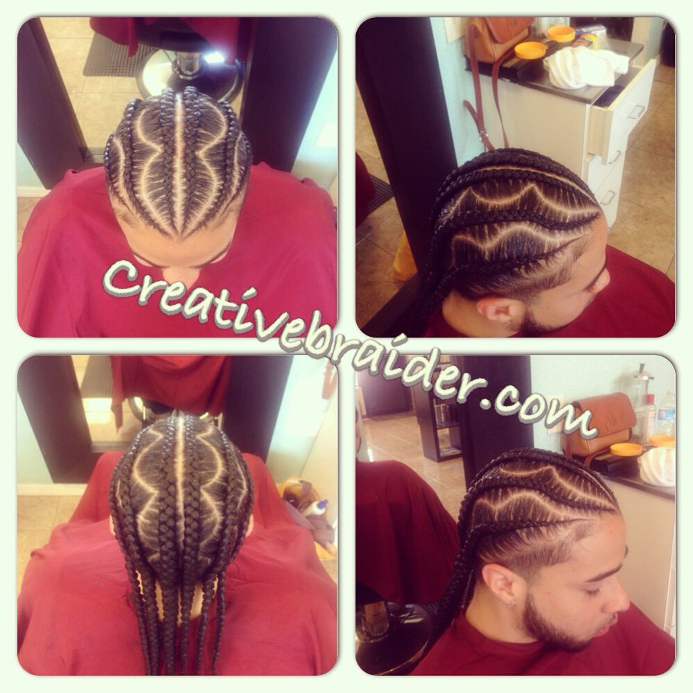 Haircut designs black men cornrows  hair  pinterest  braid designs cornrows and men hair