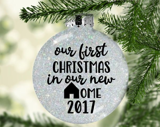 our first home ornament our first christmas in our new home our first christmas ornament our new home ornament gifts under 10 new by