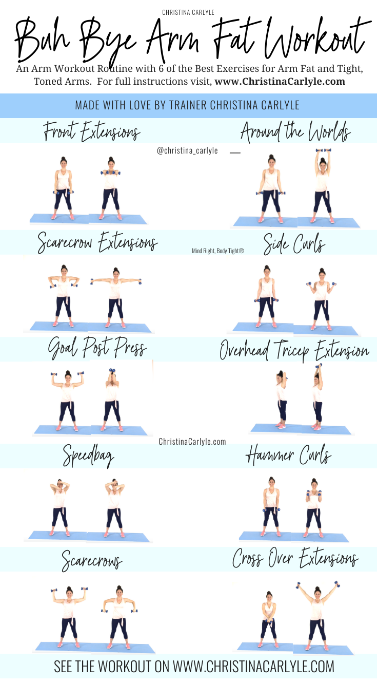 5 Arm Workouts at Home for Busy Women to Tone Up