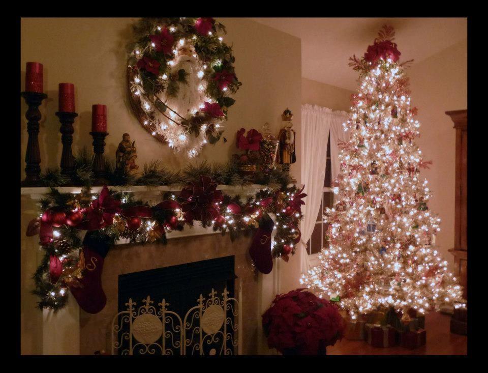 Christmas Mantel   Holiday decor