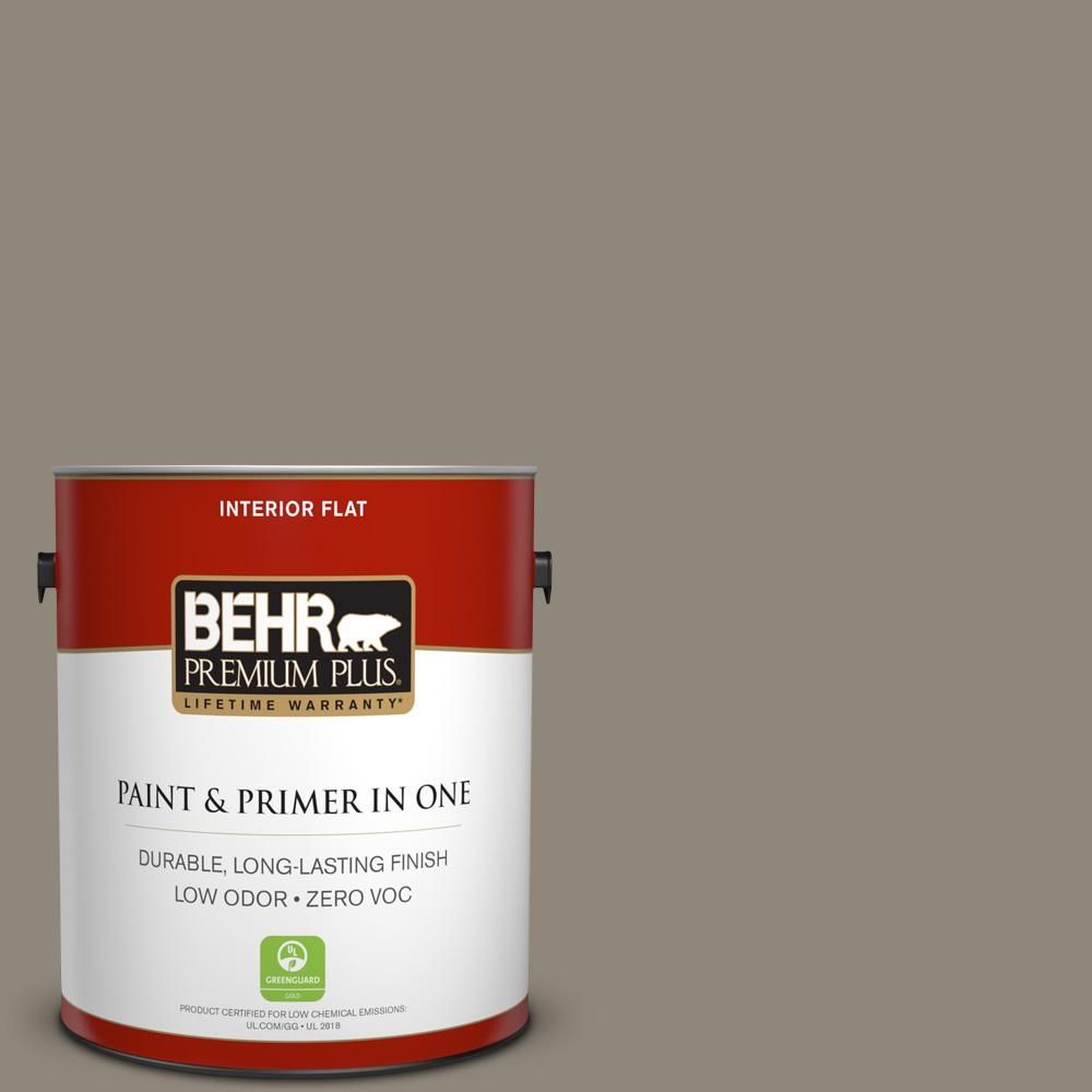For A Paint That S Tough Enough To Tackle Any Room In Your Home Without Sacrificing Beauty Choose Behr Premium Plus Zero Voc Semi Gloss Enamel Interior